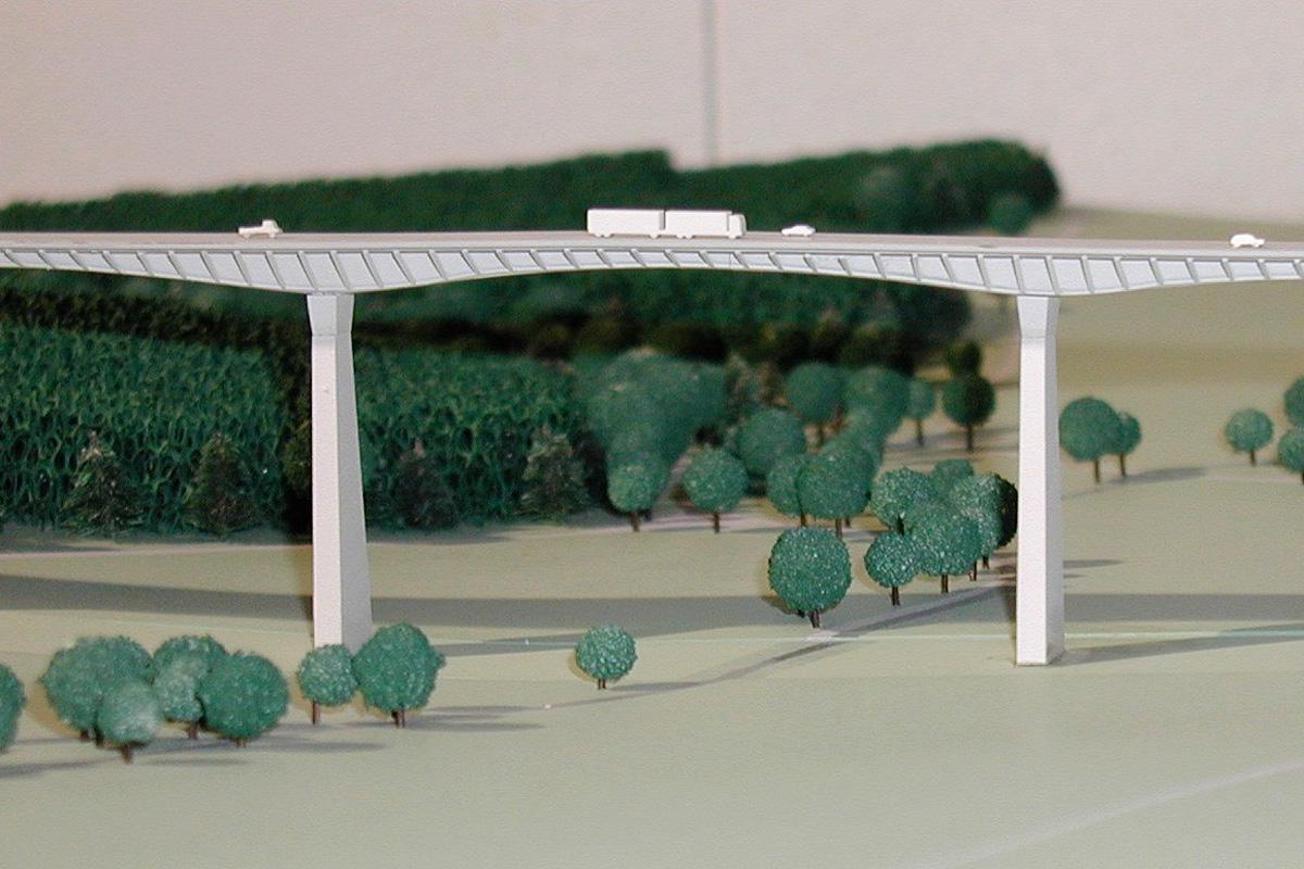 Modell Reichenbachtal-Brücke