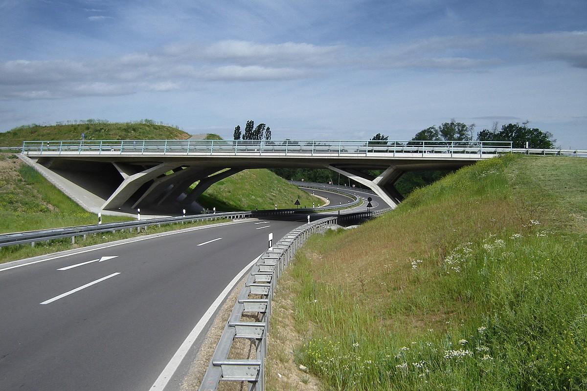 Road Bridge, Federal Highway B14, Winnenden