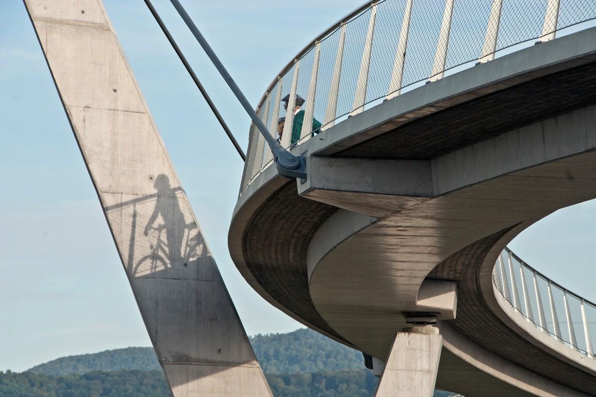 Pedestrian Bridge, Tübingen-Nehren