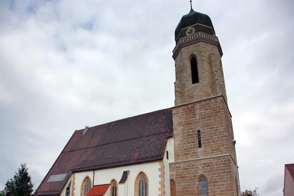 Sanierung St. Lukas, Tannhausen Ansicht