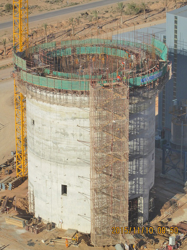 Multi-Compartment and Raw-Meal Silos, Algeria